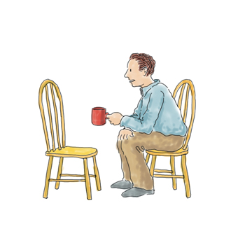 man-talking-to-empty-chair
