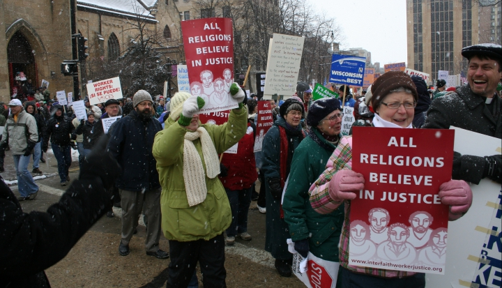 Madison-clergy-march-with-signs