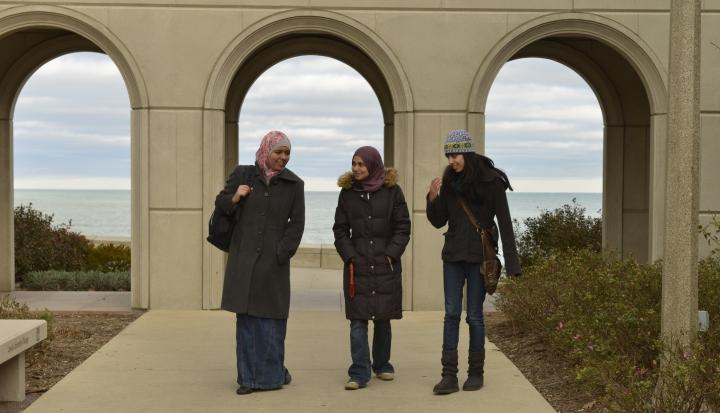 Muslim Loyola students