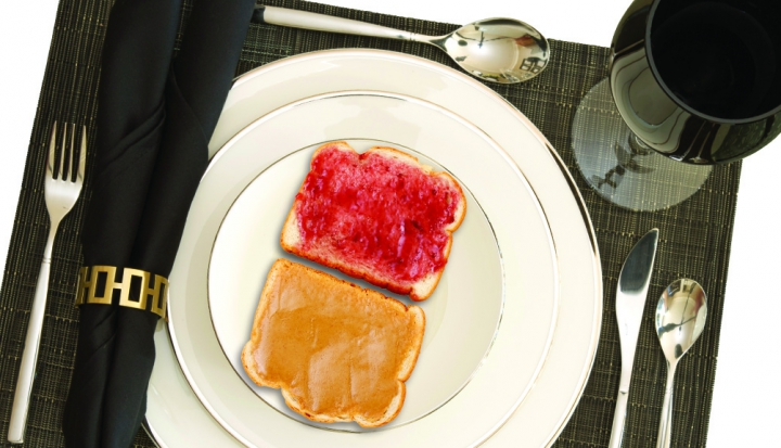 open-face-pb-and-jelly-sandwich