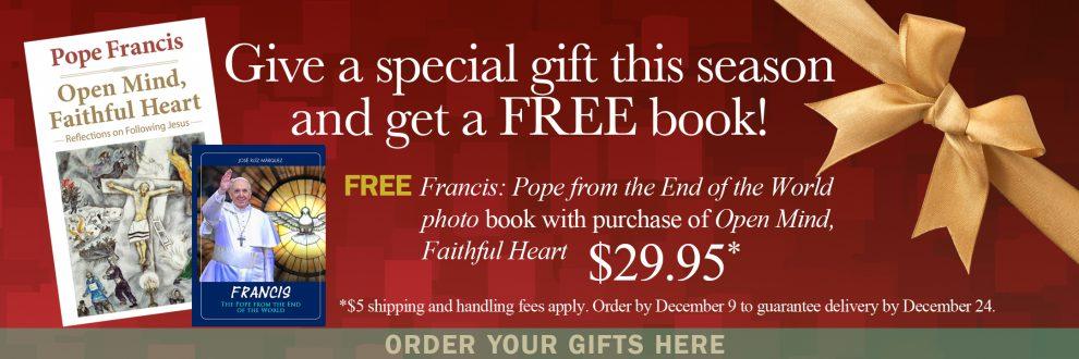 Pope Books Special e-bulletin_111913