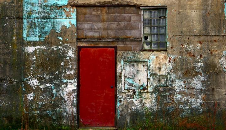 Red door flickr