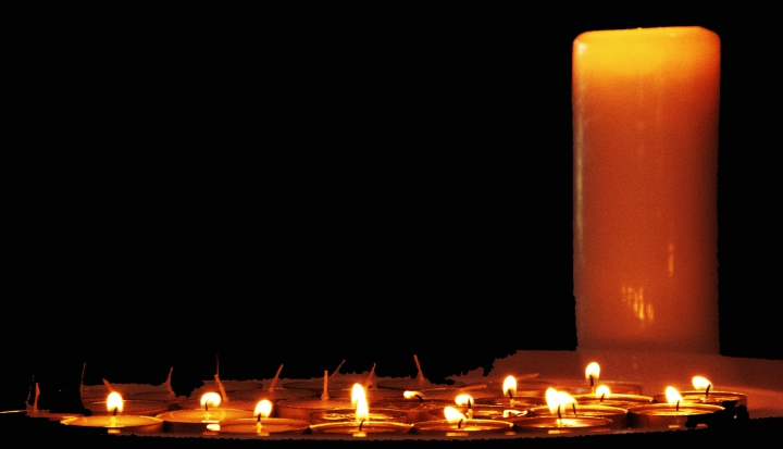 candles in the dark_Flickr