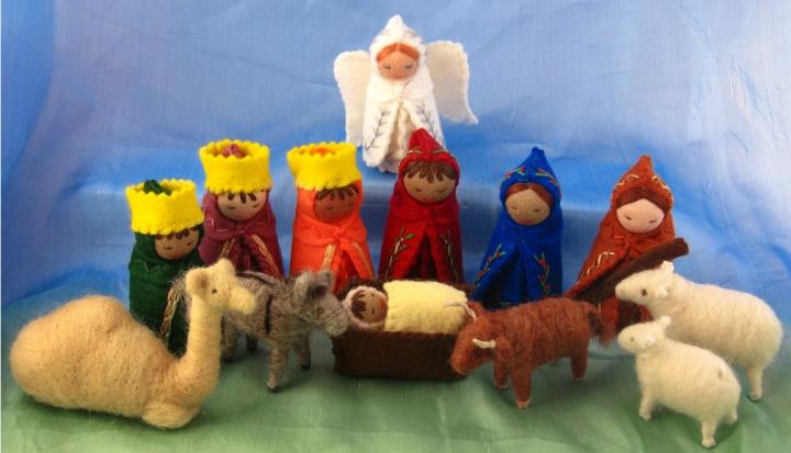 nativity set_Flickr