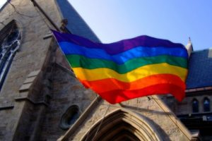 rainbow flag church_flickr