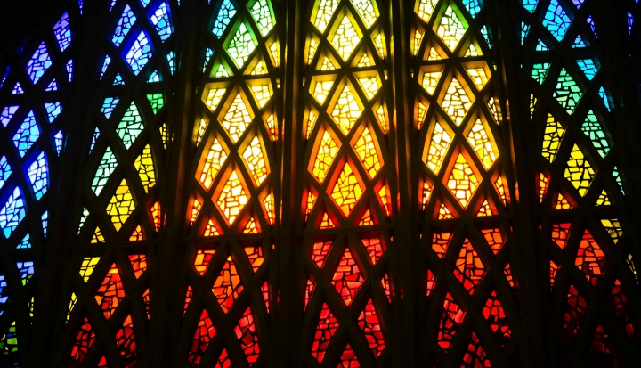 rainbow stained glass_flickr