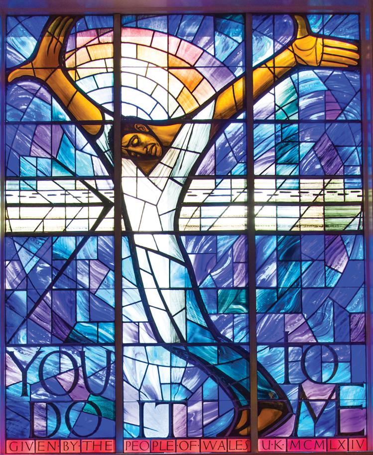 Black Jesus_Wales Window