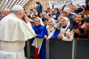 Pope-Francis-greets-a-crowd