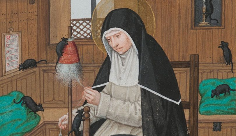 st-gertrude-with-mice