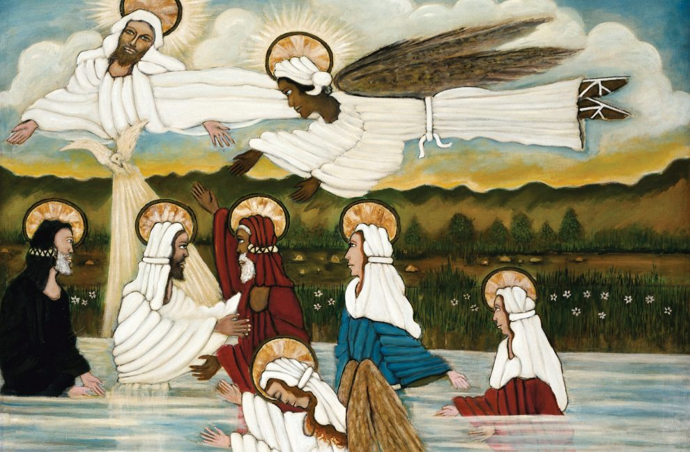 painting-of-jesus-and-angels