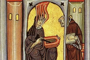 Hildegard-with-holy-spirit-and-book