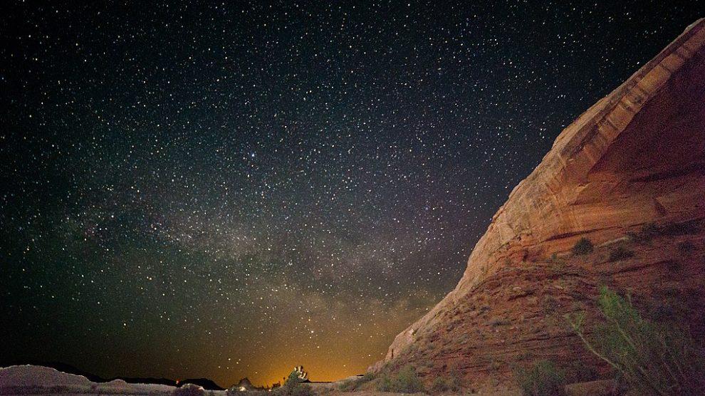 stars-in-night-sky-monument-valley-navajo-tribal-park