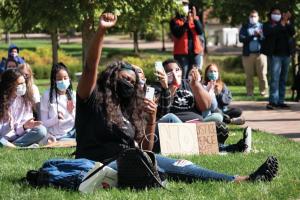university-of-dayton-anti-racism-demonstration