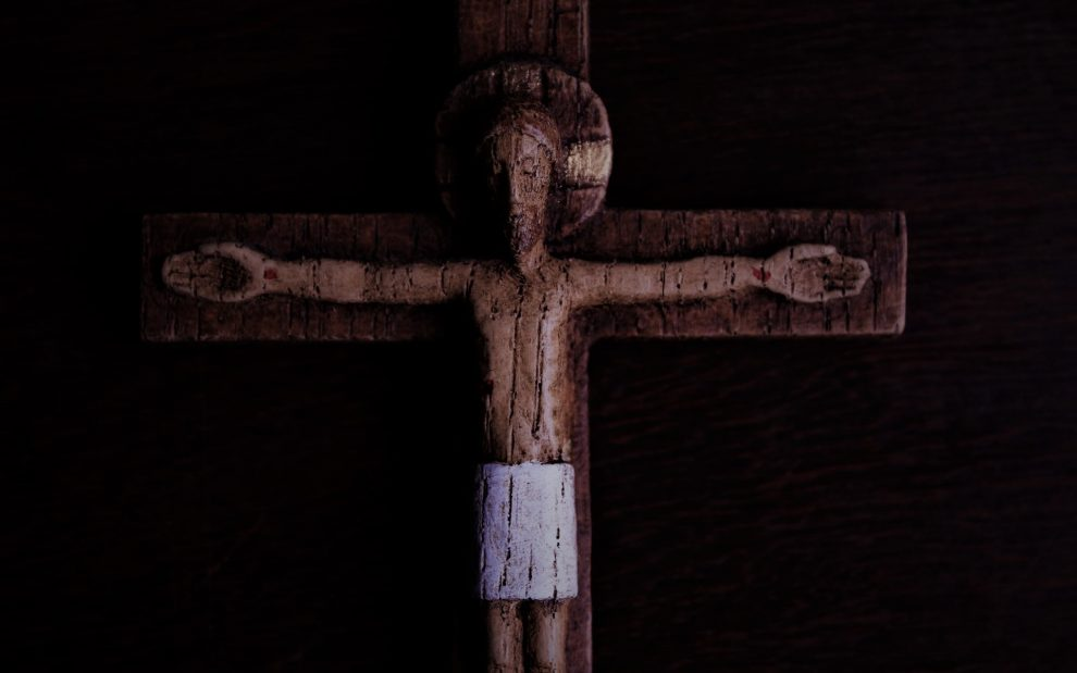 wooden-crucifix-dimly-lit