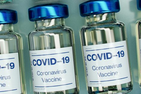 plastic-bottles-with-covid-19-vaccine-on-label