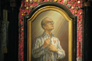 painting-of-saint-maximilian-kolbe