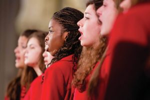 choir-singing-in-red-robes