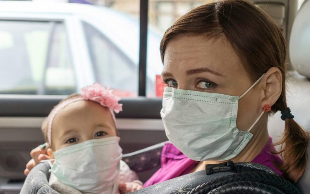 woman-and-child-wearing-surgical-mask