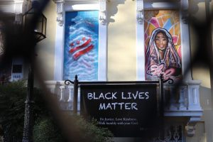 black-lives-matter-sign-in-front-of-church