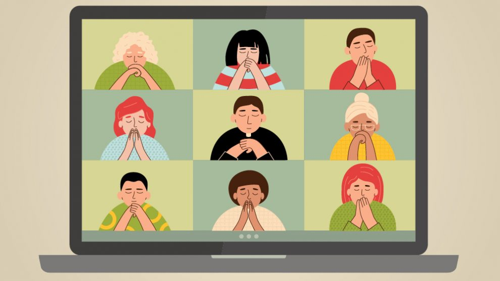 art-of-a-prayer-group-using-zoom