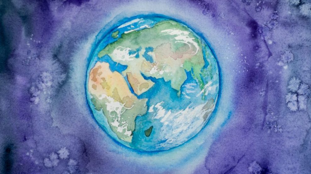 painting-of-the-globe