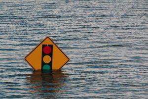 traffic-sign-submerged-under-water
